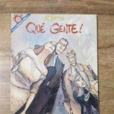 Coleccionismo de Revista El Jueves: MFF.- REVISTA EL JUEVES. COLECCION PENDONES DEL HUMOR.- Nº 75.- QUE GENTE!. Lote 153493850