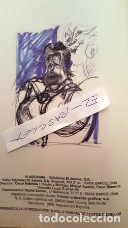 Coleccionismo de Revista El Jueves: LAS MEJORES CARICATURAS - DE VIZCARRA - ESTO ES HOLLYWOOD - EDICION 1999 - EL JUEVES - - Foto 3 - 154461430