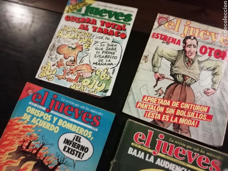 Coleccionismo de Revista El Jueves: 4 revistas el jueves 538, 335, 117, 123 - Foto 2 - 155181745