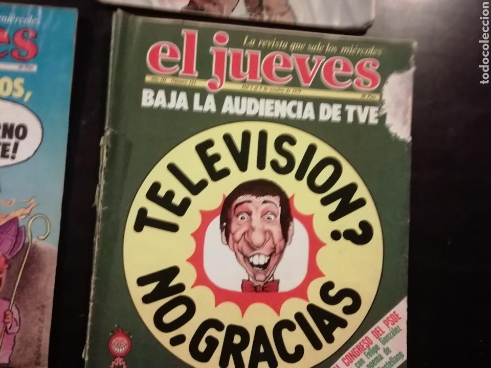 Coleccionismo de Revista El Jueves: 4 revistas el jueves 538, 335, 117, 123 - Foto 3 - 155181745