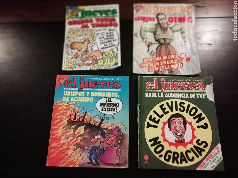 4 REVISTAS EL JUEVES 538, 335, 117, 123 (Coleccionismo - Revistas y Periódicos Modernos (a partir de 1.940) - Revista El Jueves)