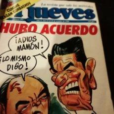 Coleccionismo de Revista El Jueves: REVISTA EL JUEVES 491 JORDI PUJOL 1986. Lote 155308918