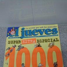 Coleccionismo de Revista El Jueves: EL JUEVES.. ESPECIAL 1000. Lote 155565205