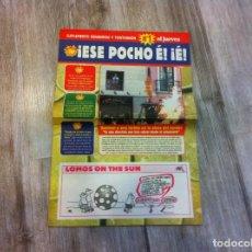Coleccionismo de Revista El Jueves: SUPLEMENTO VERANIEGO Y TONTORRÓN DE LA REVISTA EL JUEVES. (¡ESE POCHO ...). Lote 156473938