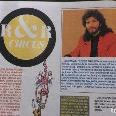 Coleccionismo de Revista El Jueves: CAMARÓN DE LA ISLA-REVISTA EL JUEVES. Lote 158593938