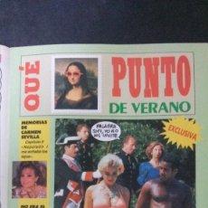 Coleccionismo de Revista El Jueves: MARTA SÁNCHEZ-REVISTA EL JUEVES. Lote 158594974