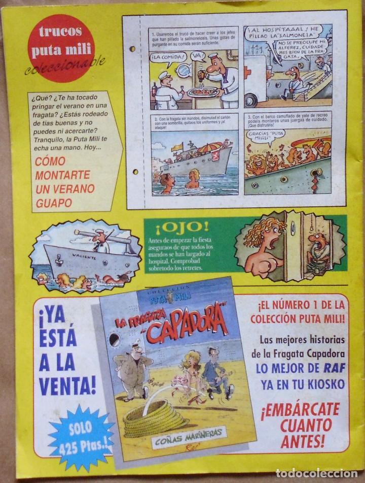 Coleccionismo de Revista El Jueves: lote nº 16 REVISTA EL JUEVES - PUTA MILI - 24 AL 30 DE AGOSTO 1994 - AÑO III - Nº 113 - Foto 2 - 158994850
