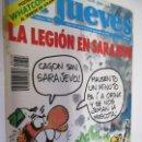 Coleccionismo de Revista El Jueves: EL JUEVES LA REVISTA QUE SALE LOS MIERCOLES Nº 798 -09-92 LA LEGION EN SARAJEVO . Lote 160403962