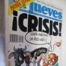 Coleccionismo de Revista El Jueves: EL JUEVES LA REVISTA QUE SALE LOS MIERCOLES Nº 799 SEPTIEMBRE -1992 CRISIS . Lote 160405770