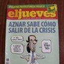 Coleccionismo de Revista El Jueves: REVISTA EL JUEVES Nº 1670 - AÑO 2009 - PÓSTER CENTRAL INCLUIDO. Lote 160524742