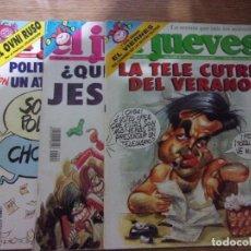 Coleccionismo de Revista El Jueves: LOTE DE 3 REVISTAS EL JUEVES.. Lote 160554518
