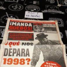 Coleccionismo de Revista El Jueves: SUPLEMENTO EL JUEVES MANDA GUEBOS 23 SEIS PÁGINAS. Lote 162310661