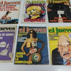 Coleccionismo de Revista El Jueves: LOTE REVISTAS ANTIGUAS EL JUEVES. Lote 162323452