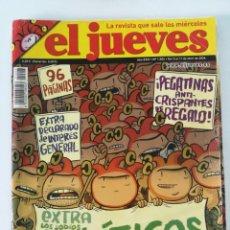 Coleccionismo de Revista El Jueves: EL JUEVES Nº 1.506 - EXTRA LOS JODÍOS POLÍTICOS (ABRIL 2006). Lote 162522006