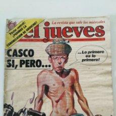 Coleccionismo de Revista El Jueves: EL JUEVES Nº 274 - CASCO SI, PERO... (1982). Lote 162522426