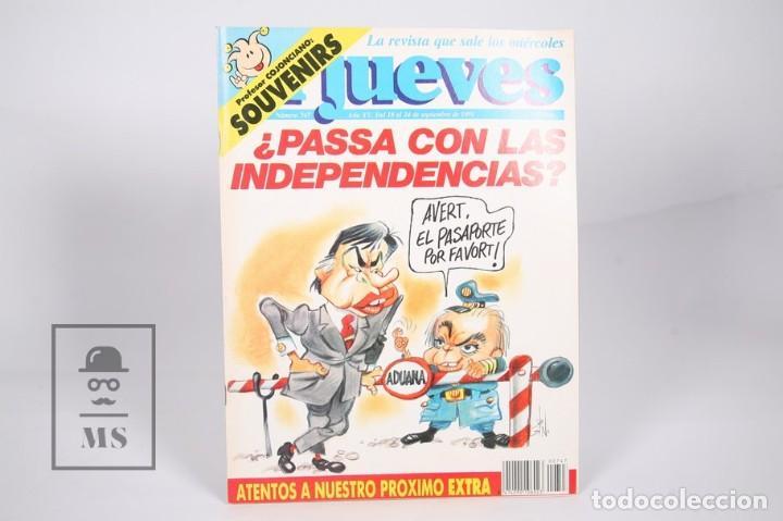 Coleccionismo de Revista El Jueves: Gran Lote de 154 Revistas - El Jueves - Del Año 1991 al 2000 - Foto 2 - 163070622