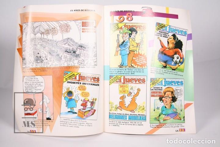 Coleccionismo de Revista El Jueves: Gran Lote de 154 Revistas - El Jueves - Del Año 1991 al 2000 - Foto 5 - 163070622