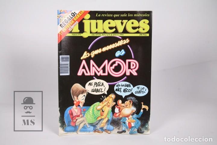 Coleccionismo de Revista El Jueves: Gran Lote de 154 Revistas - El Jueves - Del Año 1991 al 2000 - Foto 6 - 163070622