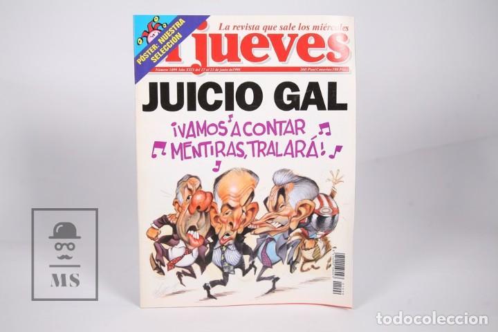 Coleccionismo de Revista El Jueves: Gran Lote de 154 Revistas - El Jueves - Del Año 1991 al 2000 - Foto 7 - 163070622
