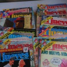Coleccionismo de Revista El Jueves: LOTE 52 REVISTAS EL JUEVES. Lote 165251544