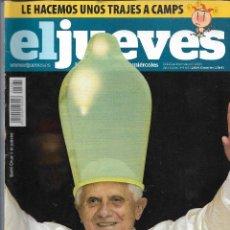 Coleccionismo de Revista El Jueves: EL JUEVES Nº 1661, MARZO 2009. Lote 166715322