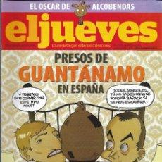 Coleccionismo de Revista El Jueves: EL JUEVES Nº 1658, MARZO 2009. Lote 166716026