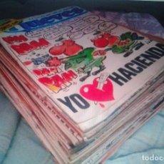 Coleccionismo de Revista El Jueves: LOTE DE 52 REVISTAS/COMIC EL JUEVES. Lote 167485292