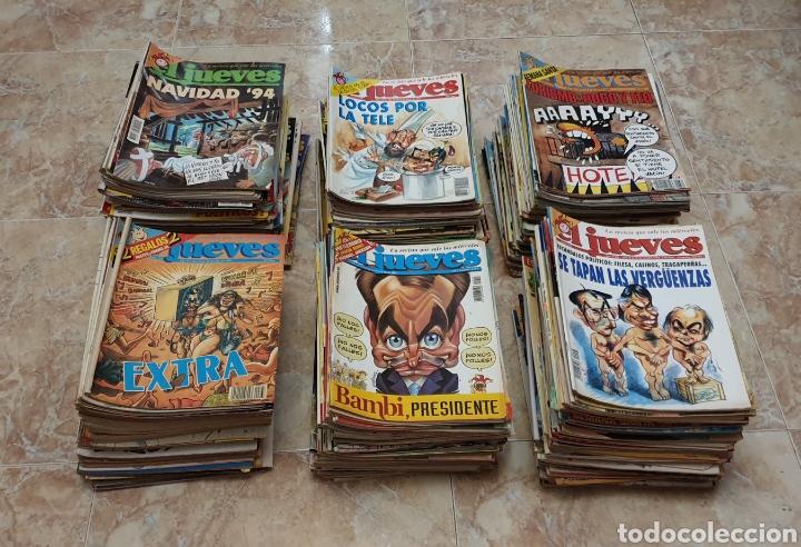 GRAN COLECCIÓN DE 400 REVISTAS EL JUEVES AÑOS 80-90 (Coleccionismo - Revistas y Periódicos Modernos (a partir de 1.940) - Revista El Jueves)