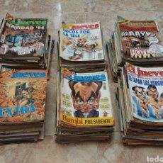 Coleccionismo de Revista El Jueves: GRAN LOTE DE 400 REVISTAS EL JUEVES AÑOS 80-90. Lote 167549277