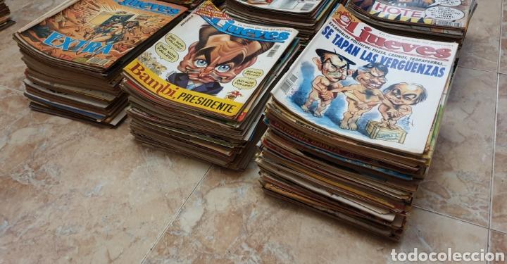 Coleccionismo de Revista El Jueves: GRAN COLECCIÓN DE 400 REVISTAS EL JUEVES AÑOS 80-90 - Foto 2 - 167549277