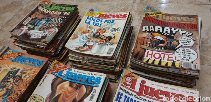 Coleccionismo de Revista El Jueves: GRAN COLECCIÓN DE 400 REVISTAS EL JUEVES AÑOS 80-90 - Foto 3 - 167549277