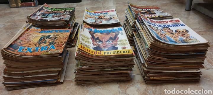 Coleccionismo de Revista El Jueves: GRAN COLECCIÓN DE 400 REVISTAS EL JUEVES AÑOS 80-90 - Foto 5 - 167549277