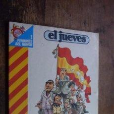 Coleccionismo de Revista El Jueves: PENDONES DEL HUMOR Nº 1, MARTINEZ EL FACHA, KIM, EL JUEVES, 1983. Lote 167792040