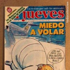 Coleccionismo de Revista El Jueves: EL JUEVES N° 406 (MARZO, 1985).. Lote 168644388