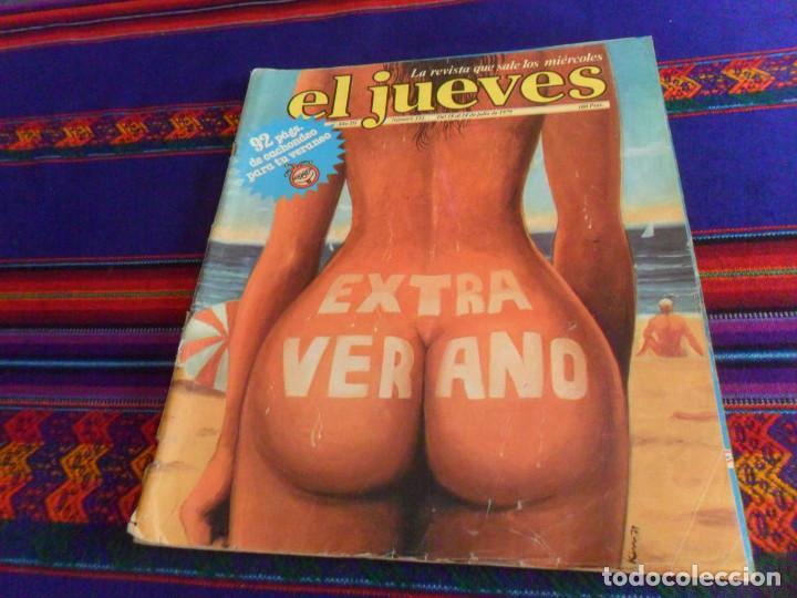 Coleccionismo de Revista El Jueves: CON PARODIA DE STAR WARS, EL JUEVES EXTRA DE VERANO. - Foto 4 - 169090184