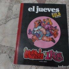 Coleccionismo de Revista El Jueves: EL JUEVES, LUXURY GOLD COLLECTION, EL MANOLO Y LA IRENE, MANEL FERRER. Lote 170624280