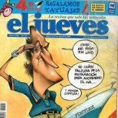 Coleccionismo de Revista El Jueves: EL JUEVES *** NÚMERO 1004 AGOSTO 1996. Lote 171980065