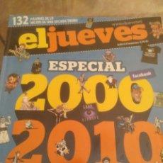 Coleccionismo de Revista El Jueves: REVISTA ESPECIAL EL JUEVES DECADA 2000-2010. Lote 172120859