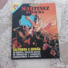 Coleccionismo de Revista El Jueves: PENDONES DEL HUMOR Nº 48, MARTINEZ EL FACHA,SALVEMOS A ESPAÑA. Lote 182540230