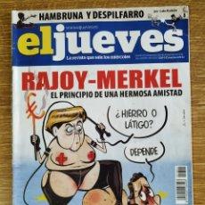 Coleccionismo de Revista El Jueves: REVISTA EL JUEVES N°1801 AÑO 2011. Lote 172801940