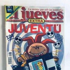 Coleccionismo de Revista El Jueves: EL JUEVES - EXTRA JUVENTÚ ( 1084 ) COMPLETO CON DICO DEL JUEGO / PRECINTADO. Lote 172872465