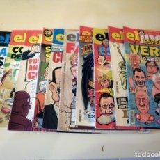 Coleccionismo de Revista El Jueves: 10 REVISTAS EL JUEVES. Lote 174272168