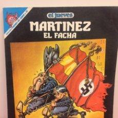 Coleccionismo de Revista El Jueves: MARTÍNEZ EL FACHA. Lote 174325943