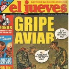 Coleccionismo de Revista El Jueves: LOTE SEIS NÚMERO DE EL JUEVES, TRES DE ELLOS EXTRAS. Lote 174379837