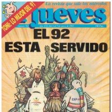 Coleccionismo de Revista El Jueves: EL JUEVES Nº 762 - (1992). Lote 174548210