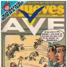 Collectionnisme de Magazine El Jueves: EL JUEVES Nº 776 - (1992). Lote 175189750