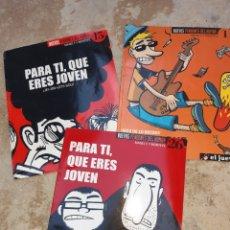 Coleccionismo de Revista El Jueves: LOTE DE 3 ESPECIALES EL JUEVES,PARA TI,QUE ERES JOVEN. Lote 175537109