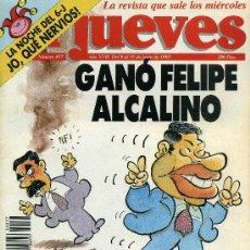 Coleccionismo de Revista El Jueves: EL JUEVES Nº 837. Lote 175797998