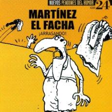 Coleccionismo de Revista El Jueves: MARTINEZ EL FACHA - ARRASANDO. Lote 175799998