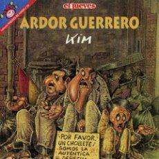 Coleccionismo de Revista El Jueves: MARTINEZ EL FACHA - ARDOR GUERRERO. Lote 175801332